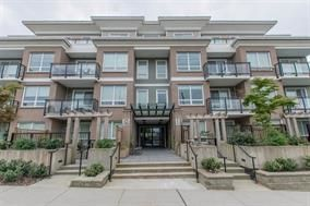 """Photo 1: 101 630 COMO LAKE Avenue in Coquitlam: Coquitlam West Condo for sale in """"COMO LIVING"""" : MLS®# R2142902"""