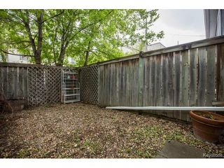 Photo 19: 130 Evanson Street in Winnipeg: Wolseley Residential for sale (5B)  : MLS®# 1712948