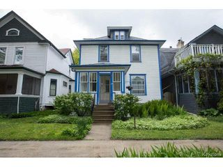 Photo 1: 130 Evanson Street in Winnipeg: Wolseley Residential for sale (5B)  : MLS®# 1712948