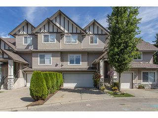 "Photo 1: 43 18181 68 Avenue in Surrey: Cloverdale BC Townhouse for sale in ""THE MAGNOLIA"" (Cloverdale)  : MLS®# R2191663"