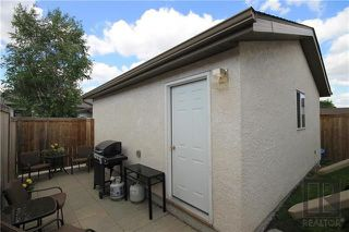 Photo 20: 599 Novavista Drive in Winnipeg: Meadowood Residential for sale (2E)  : MLS®# 1820497
