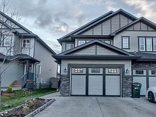 Main Photo: 7494 Ellesmere Way: Sherwood Park House Half Duplex for sale : MLS®# E4133973