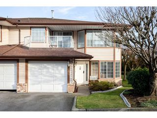 "Photo 1: 14 32659 GEORGE FERGUSON Way in Abbotsford: Abbotsford West Townhouse for sale in ""Canterbury Gate"" : MLS®# R2331851"