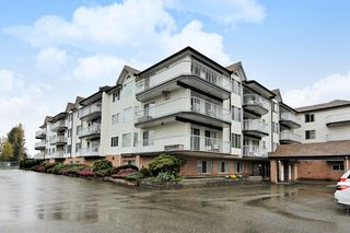 "Photo 1: 207 33535 KING Road in Abbotsford: Poplar Condo for sale in ""CENTRAL HEIGHTS MANOR"" : MLS®# R2357537"