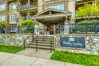 "Photo 1: 409 250 SALTER Street in New Westminster: Queensborough Condo for sale in ""PADDLERS LANDING"" : MLS®# R2359243"
