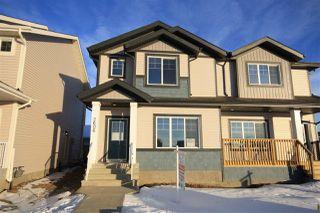 Photo 1: 2606 19A Avenue in Edmonton: Zone 30 House Half Duplex for sale : MLS®# E4155844