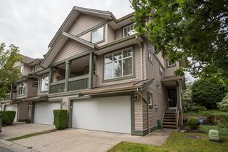 "Photo 1: 20 6050 166 Street in Surrey: Cloverdale BC Townhouse for sale in ""WESTFIELD"" (Cloverdale)  : MLS®# R2385958"
