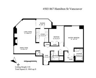 """Photo 17: 503 867 HAMILTON Street in Vancouver: Downtown VW Condo for sale in """"JARDINE'S LOOKOUT"""" (Vancouver West)  : MLS®# R2407224"""