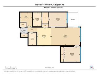 Photo 34: 502 626 14 Avenue SW in Calgary: Beltline Apartment for sale : MLS®# A1052967