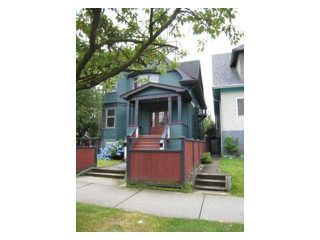 Main Photo: 1876 Charles in Vancouver: Grandview VE Home for sale (Vancouver East)  : MLS®#  V977029