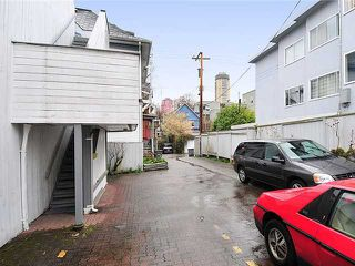 Photo 17: 1038 CARDERO Street in Vancouver: West End VW House Triplex for sale (Vancouver West)  : MLS®# V1036593
