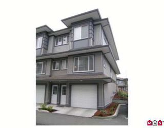 "Photo 1: 127 18701 66TH AV in Surrey: Cloverdale BC Townhouse for sale in ""Encore At Hillcrest"" (Cloverdale)  : MLS®# F2620523"