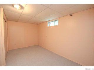 Photo 15: 141 Angus Street in WINNIPEG: North End Residential for sale (North West Winnipeg)  : MLS®# 1520290