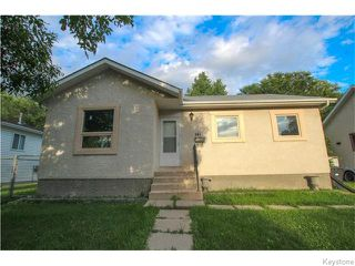 Photo 2: 141 Angus Street in WINNIPEG: North End Residential for sale (North West Winnipeg)  : MLS®# 1520290
