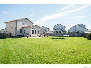 Photo 20: 352 Golden Eagle Drive in WINNIPEG: East Kildonan Residential for sale (North East Winnipeg)  : MLS®# 1525380
