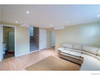 Photo 15: 352 Golden Eagle Drive in WINNIPEG: East Kildonan Residential for sale (North East Winnipeg)  : MLS®# 1525380