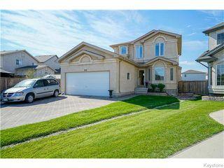 Photo 1: 352 Golden Eagle Drive in WINNIPEG: East Kildonan Residential for sale (North East Winnipeg)  : MLS®# 1525380