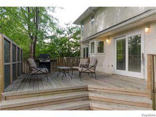 Photo 20: 23 Haddington Bay in Winnipeg: Charleswood Residential for sale (South Winnipeg)  : MLS®# 1609114