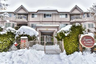 "Photo 1: 106 9865 140 Street in Surrey: Whalley Condo for sale in ""Fraser Court"" (North Surrey)  : MLS®# R2137812"