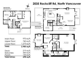 Photo 20: 2035 ROCKCLIFF Road in North Vancouver: Deep Cove House for sale : MLS®# R2210600
