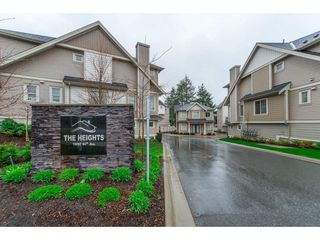 "Main Photo: 10 19097 64 Avenue in Surrey: Cloverdale BC Townhouse for sale in ""The Heights"" (Cloverdale)  : MLS®# R2257174"