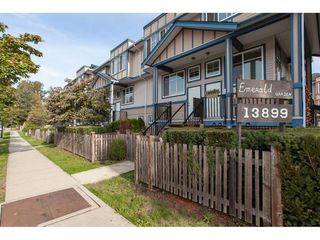"""Photo 2: 20 13899 LAUREL Drive in Surrey: Whalley Townhouse for sale in """"Emerald Gardens"""" (North Surrey)  : MLS®# R2308753"""