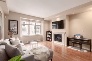 """Photo 2: 3710 WELWYN Street in Vancouver: Victoria VE Townhouse for sale in """"Stories"""" (Vancouver East)  : MLS®# R2366729"""