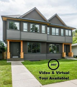 Photo 1: 2411 1 Avenue NW in Calgary: West Hillhurst Semi Detached for sale : MLS®# C4295459