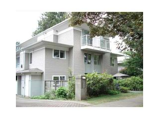 Photo 1: 2 1568 E 22ND Avenue in Vancouver: Knight Townhouse for sale (Vancouver East)  : MLS®# V881761