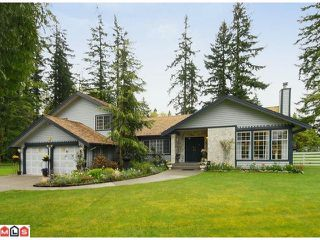 Photo 1: 17178 26A Avenue in Surrey: Grandview Surrey House for sale (South Surrey White Rock)  : MLS®# F1111437