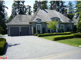 Photo 1: 2633 138A ST in Surrey: Home for sale (Elgin Chantrell)  : MLS®# F1017091