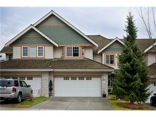 Photo 1: 12 1765 PADDOCK Drive in Coquitlam: Westwood Plateau Townhouse for sale : MLS®# V931772