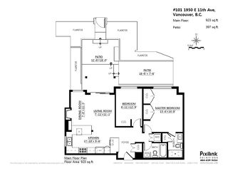 """Photo 19: # 101 1950 E 11TH AV in Vancouver: Grandview VE Condo for sale in """"LAKEVIEW PLACE"""" (Vancouver East)  : MLS®# V1034713"""