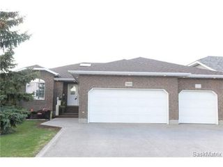 Photo 1: 3160 WINCHESTER Road in Regina: Windsor Park Single Family Dwelling for sale (Regina Area 04)  : MLS®# 499401