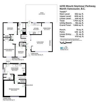 Photo 20: 4235 MT SEYMOUR Parkway in North Vancouver: Dollarton House for sale : MLS®# R2105577