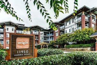 "Photo 1: 107 11950 HARRIS Road in Pitt Meadows: Central Meadows Condo for sale in ""ORIGIN"" : MLS®# R2119232"