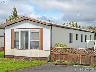 Photo 1: 61 1555 Middle Rd in VICTORIA: VR Glentana Manufactured Home for sale (View Royal)  : MLS®# 756727