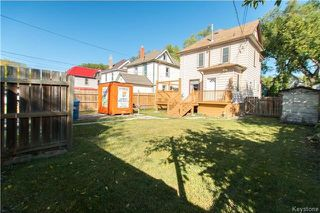 Photo 20: 16 Fawcett Avenue in Winnipeg: Wolseley Residential for sale (5B)  : MLS®# 1725237