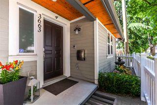"Photo 1: 3663 GLEN Drive in Vancouver: Fraser VE Townhouse for sale in ""KENSINGTON/CEDAR COTTAGE"" (Vancouver East)  : MLS®# R2241726"
