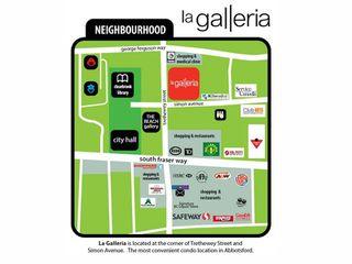 """Photo 4: 505 32445 SIMON Avenue in Abbotsford: Abbotsford West Condo for sale in """"LA GALLERIA"""" : MLS®# R2249878"""
