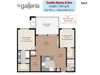 """Photo 2: 505 32445 SIMON Avenue in Abbotsford: Abbotsford West Condo for sale in """"LA GALLERIA"""" : MLS®# R2249878"""