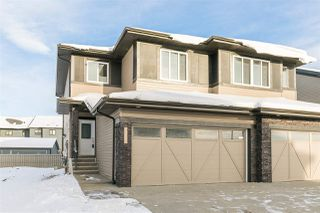 Main Photo: 6356 Cartmell Road in Edmonton: Zone 55 House Half Duplex for sale : MLS®# E4138040