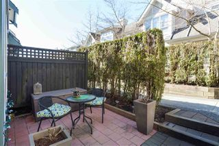 "Photo 15: 7403 MAGNOLIA Terrace in Burnaby: Highgate Townhouse for sale in ""Rockhill"" (Burnaby South)  : MLS®# R2351789"