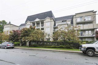 "Photo 1: 412 1669 GRANT Avenue in Port Coquitlam: Glenwood PQ Condo for sale in ""THE CHARLESTON"" : MLS®# R2408429"
