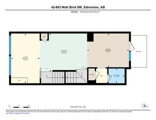 Photo 38: 42 603 WATT Boulevard in Edmonton: Zone 53 Townhouse for sale : MLS®# E4196384