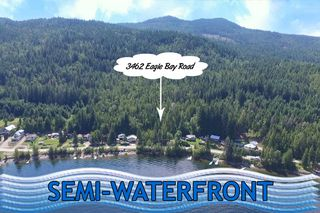 Main Photo: 3462 Eagle Bay Road in Blind Bay: Land Only for sale : MLS®# 10212583