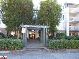 "Photo 1: 404 20200 54A Avenue in Langley: Langley City Condo for sale in ""MONTEREY GRANDE"" : MLS®# F1225359"