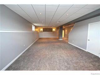 Photo 14: 94 Van Hull Way in WINNIPEG: St Vital Residential for sale (South East Winnipeg)  : MLS®# 1524692
