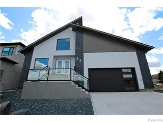 Photo 1: 94 Van Hull Way in WINNIPEG: St Vital Residential for sale (South East Winnipeg)  : MLS®# 1524692