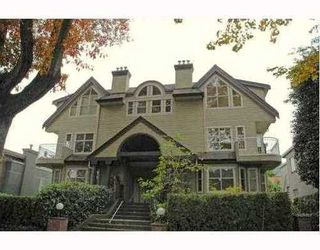 Photo 1: 1457 WALNUT Street: Kitsilano Home for sale ()  : MLS®# V770284